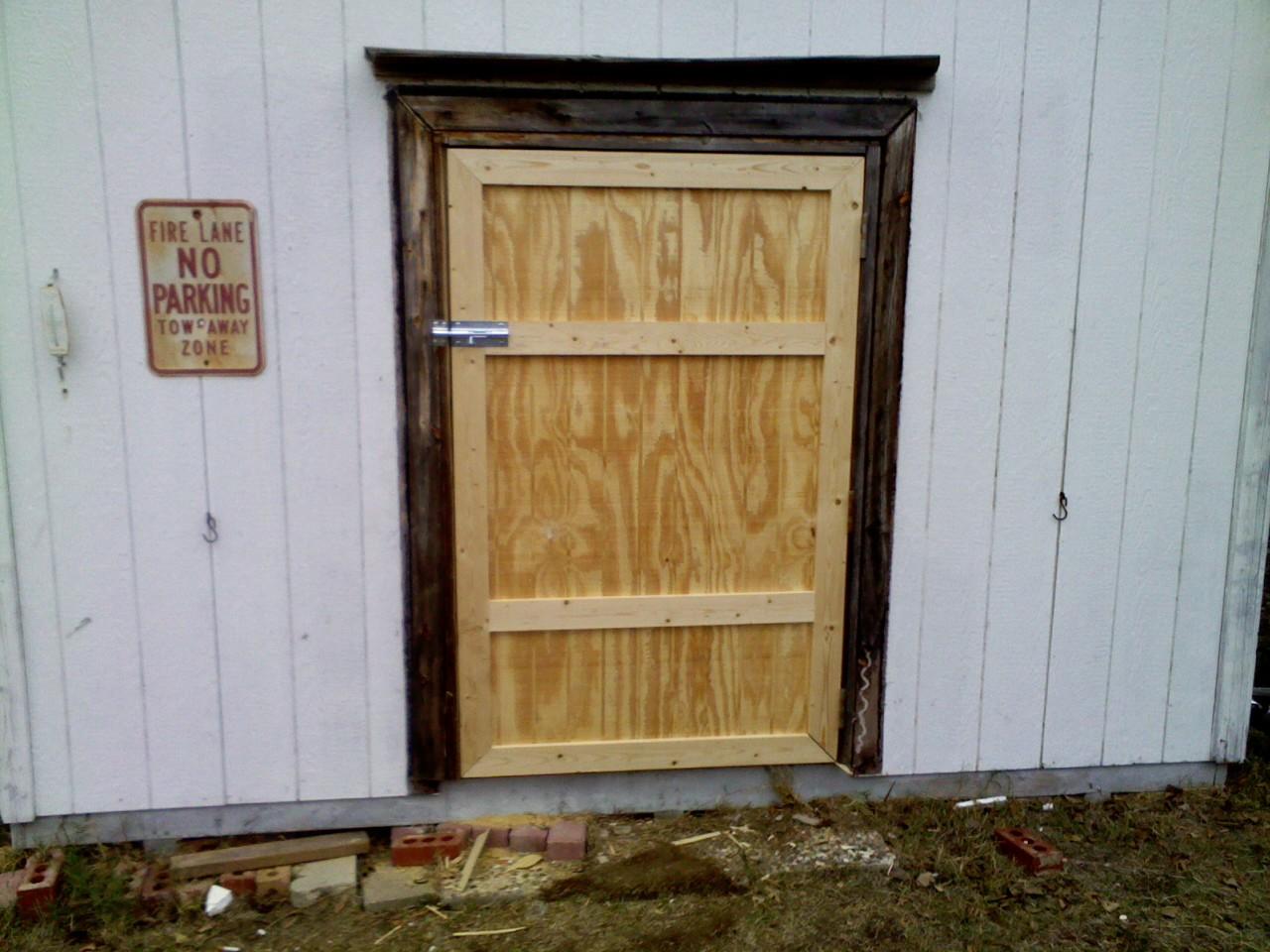 Simple Shed Door | Renov8z