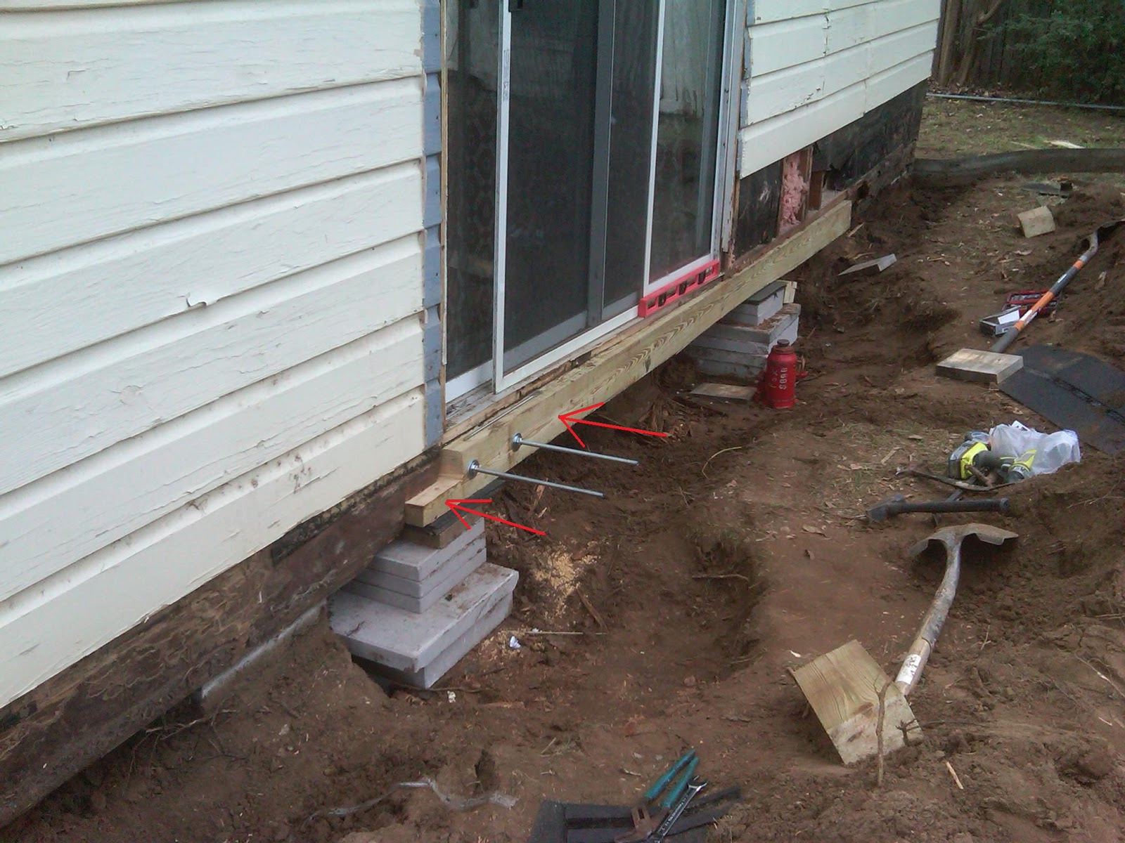 Foundation repair renov8z for How to level a house