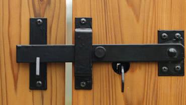 Wooden Double Gate Latch Renovationz