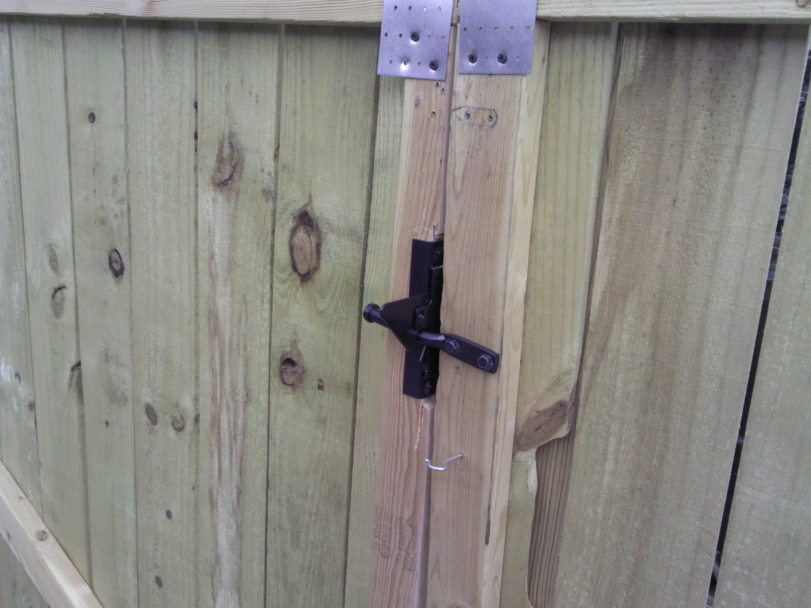 Wooden Double Gate Latch Renovationz
